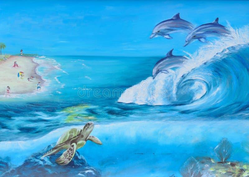 Mammal, Marine Mammal, Dolphin, Water royalty free stock images