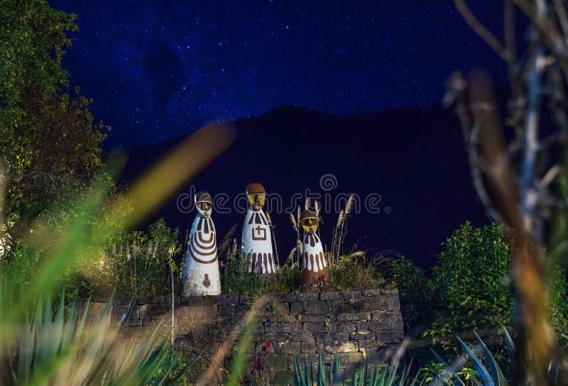 Mammamuseum i staden av Leymebamba, Peru royaltyfri bild