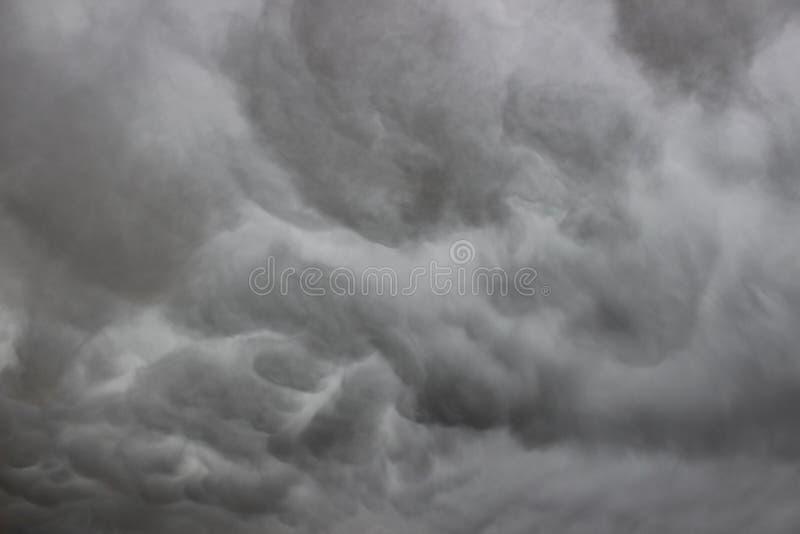 Mammatus Mammatus lizenzfreie stockfotografie