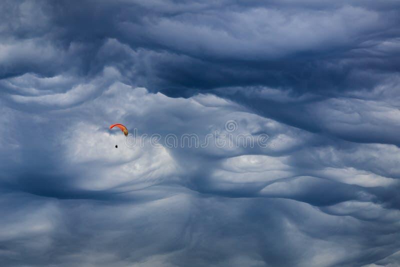Mammatus-Wolke lizenzfreies stockfoto