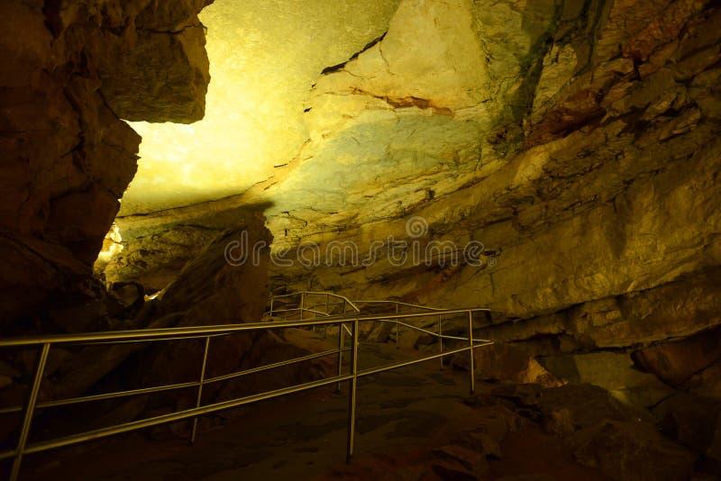 Mammoethol Nationaal Park, de V.S. royalty-vrije stock foto's