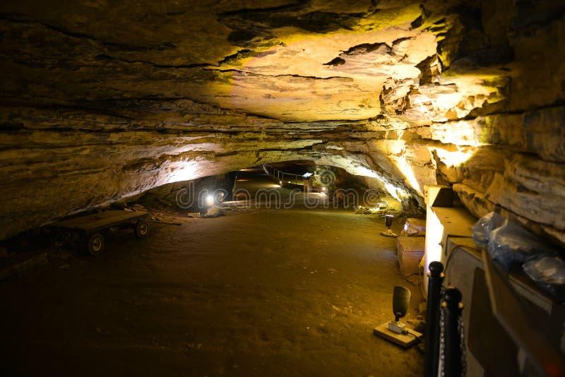 Mammoethol Nationaal Park, de V.S. stock afbeelding