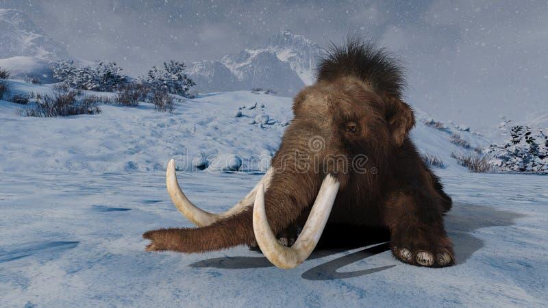 mammoth ilustração royalty free