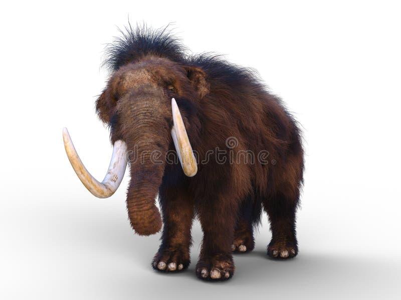 mammoth ilustração stock