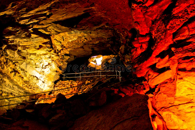 Mammoth Cave. National Park is a U.S. National Park in central Kentucky, encompassing portions of , the longest cave system known in the world royalty free stock images