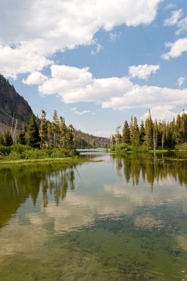 mammoth jeziora. zdjęcie stock