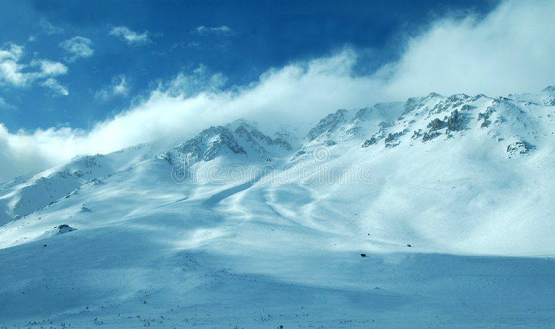 Download Mammoth Mountain area stock photo. Image of windy, northern - 505594