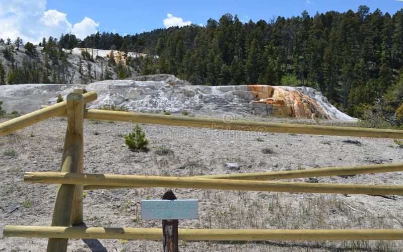 Cleopatra Terrace - Picture of Mammoth Hot Springs