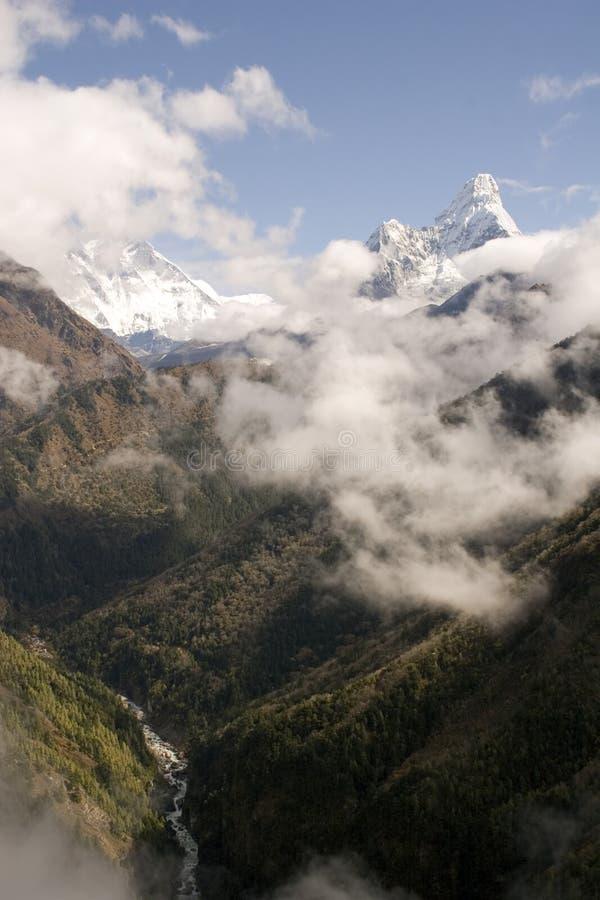 mamo dablam Nepalu fotografia stock