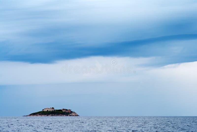 Download Mamula Islet stock photo. Image of monument, horizon - 16469382