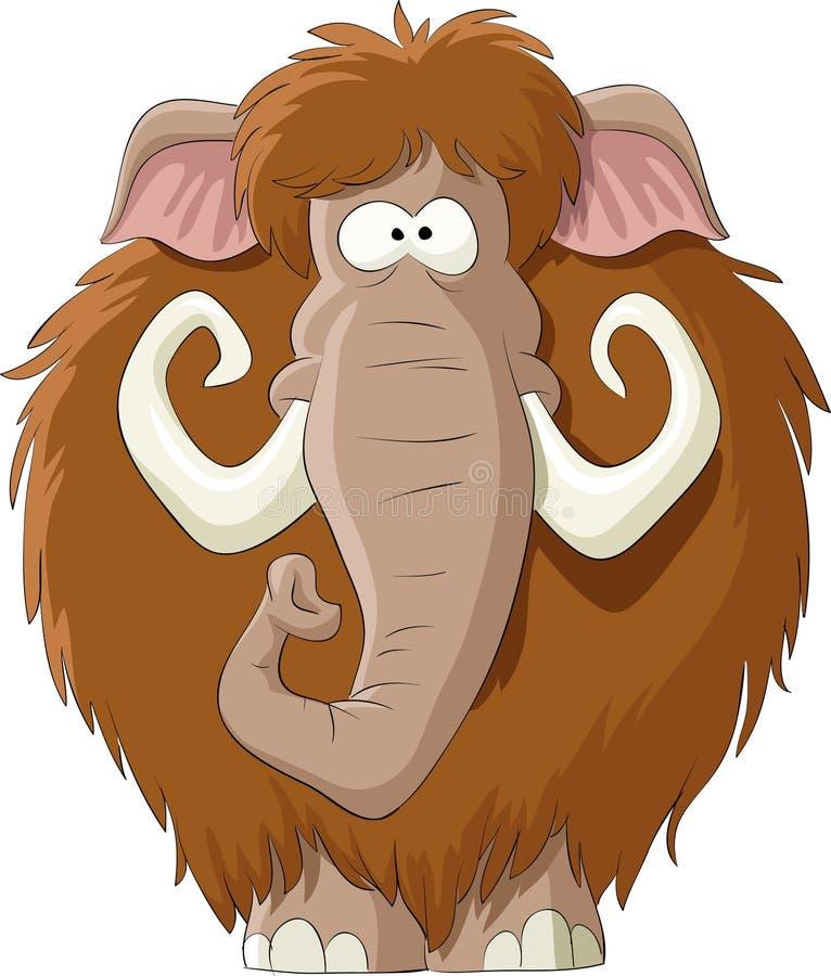 mamut royalty ilustracja