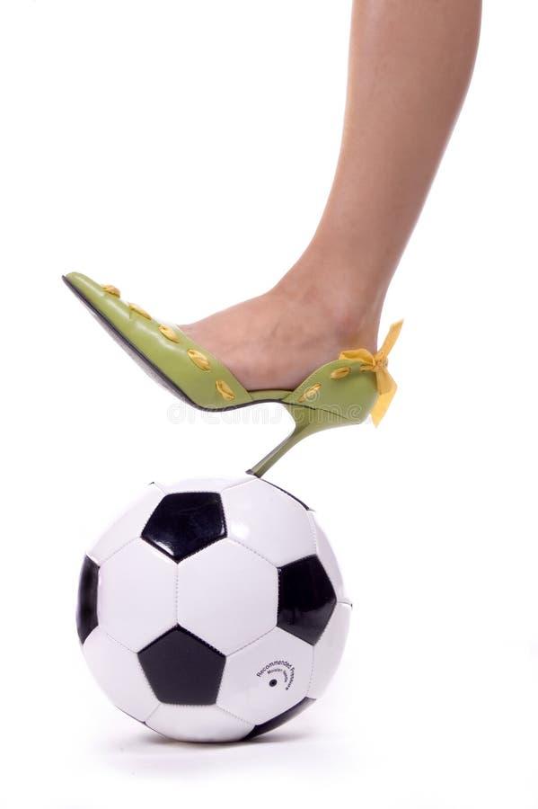 mamy spike piłki nożnej zdjęcia stock