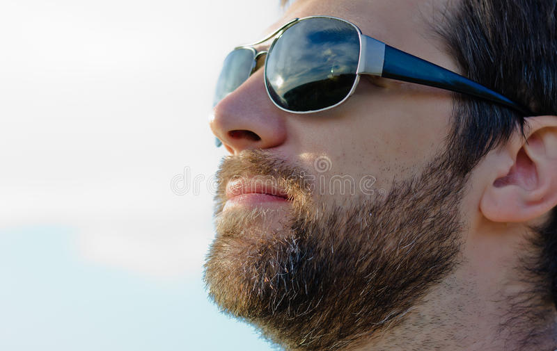 Man's face royalty free stock images