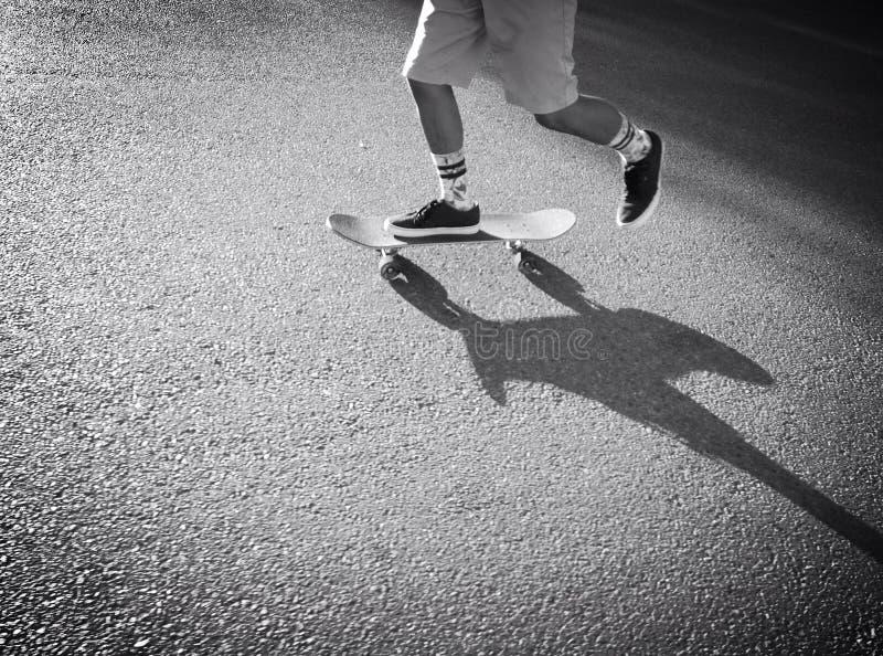 Maníaco do skate imagem de stock royalty free