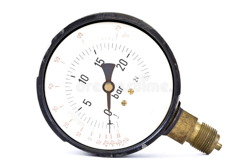 Manómetro fotografía de archivo