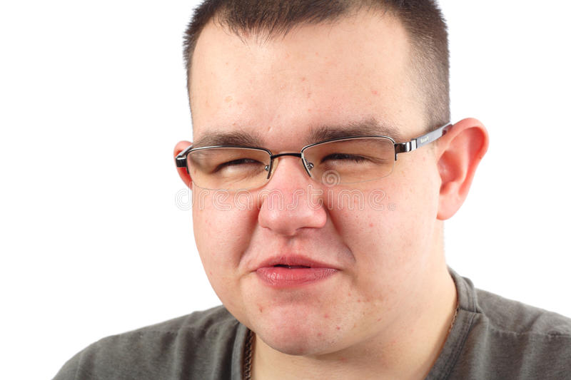 Download Man stock photo. Image of obese, thoughtful, caucasian - 12190984