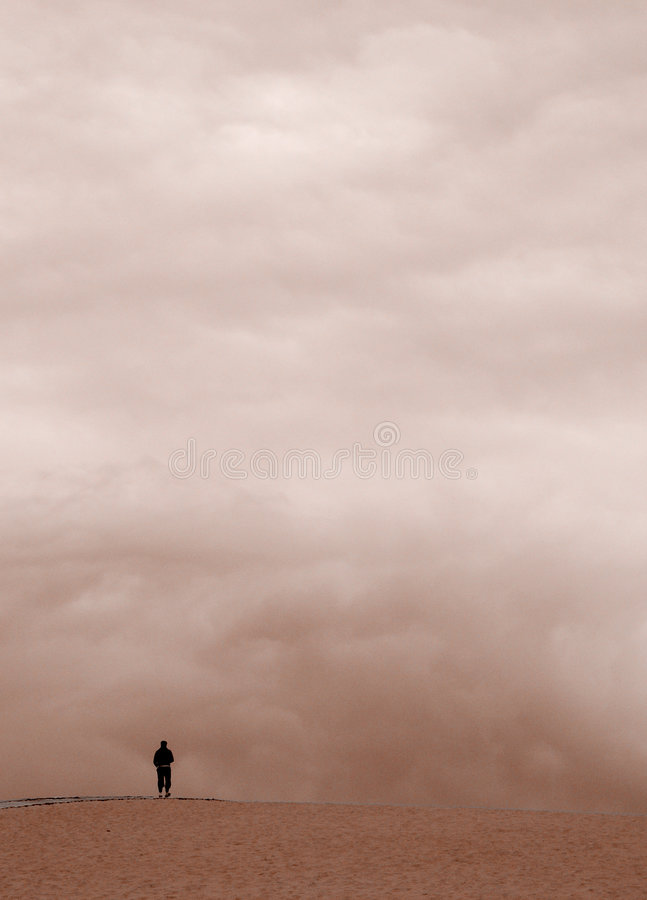 Download Man stock image. Image of isolation, human, alone, pilgrimage - 240675