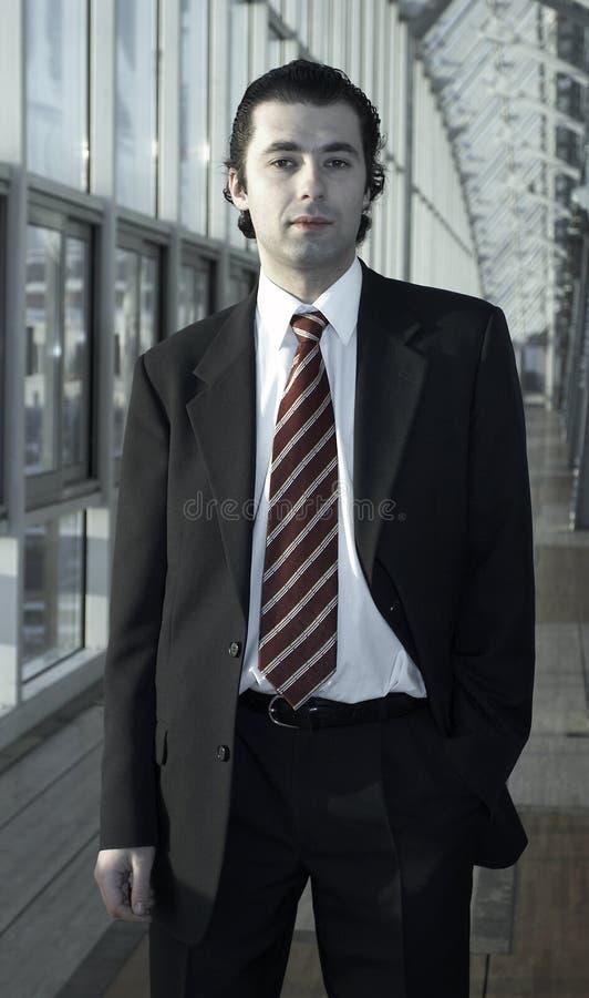 Man. Business man stock photo
