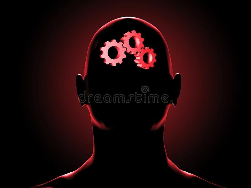 Download Man stock illustration. Image of illustration, contemplation - 8569650