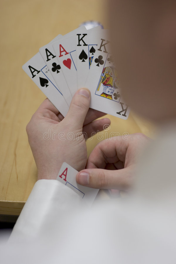 Man with Ace up his Sleeve