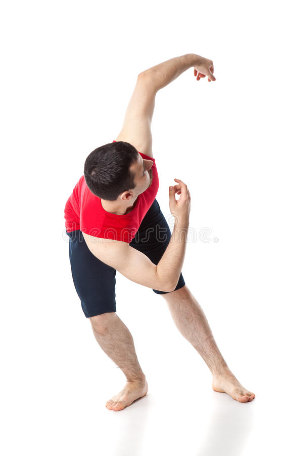 Download Man is an acrobat stock photo. Image of activity, agility - 24973792