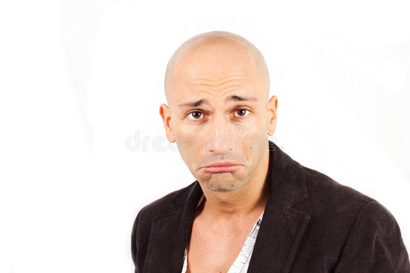 Man Amazed Royalty Free Stock Photo