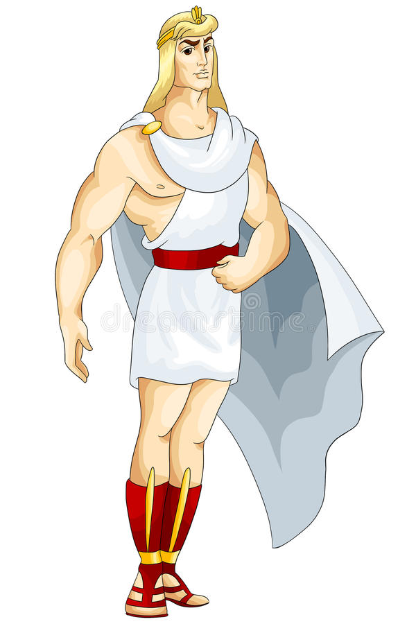 Download Man Ancient Roman Character Cartoon Style  Illustration Stock Illustration - Illustration: 31878783