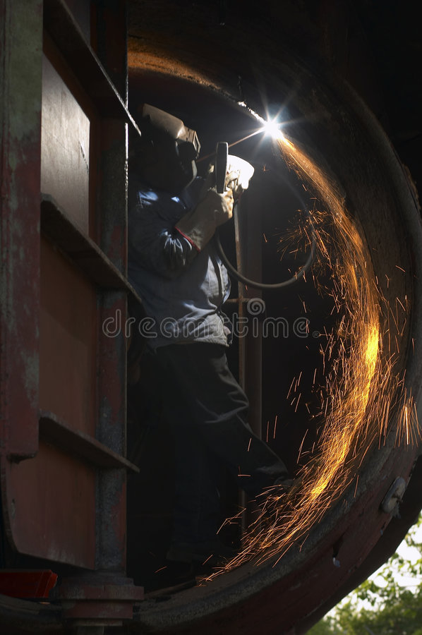 Free Man Arcing Stock Image - 720571
