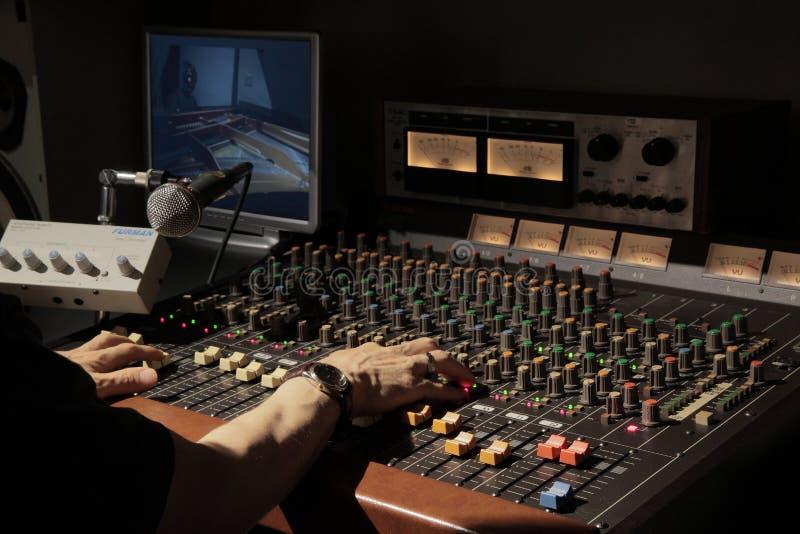 Man On Audio Mixer Free Public Domain Cc0 Image
