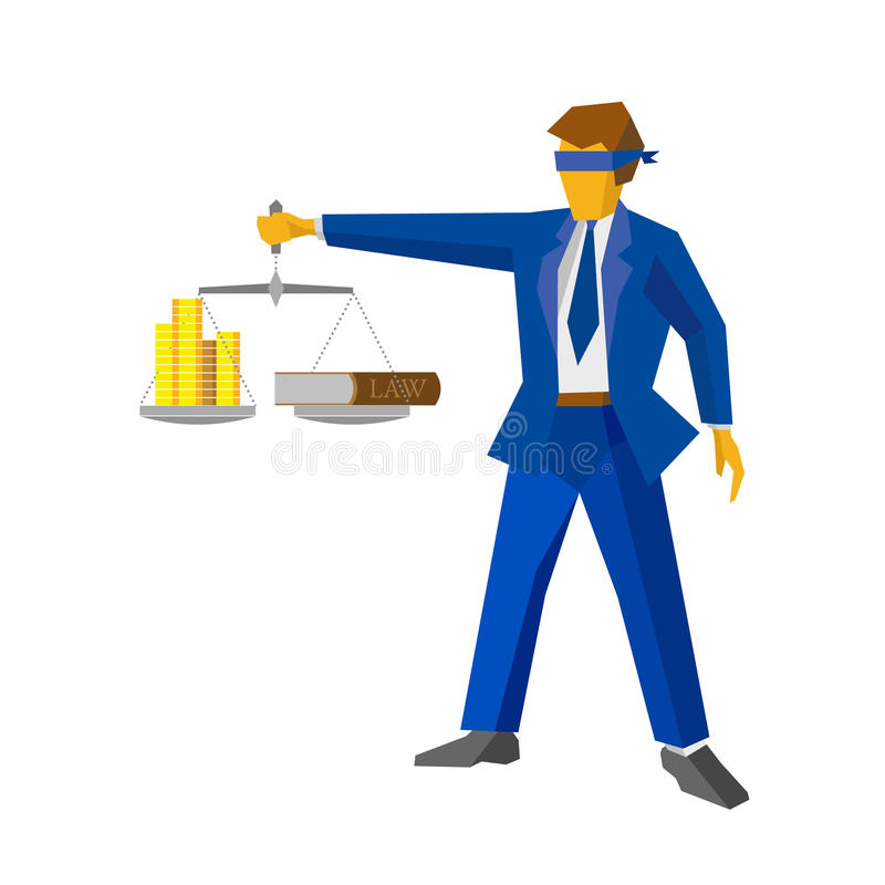 man with balance looks like god of justice law concept stock rh dreamstime com Scales of Justice No Background Law and Justice Clip Art
