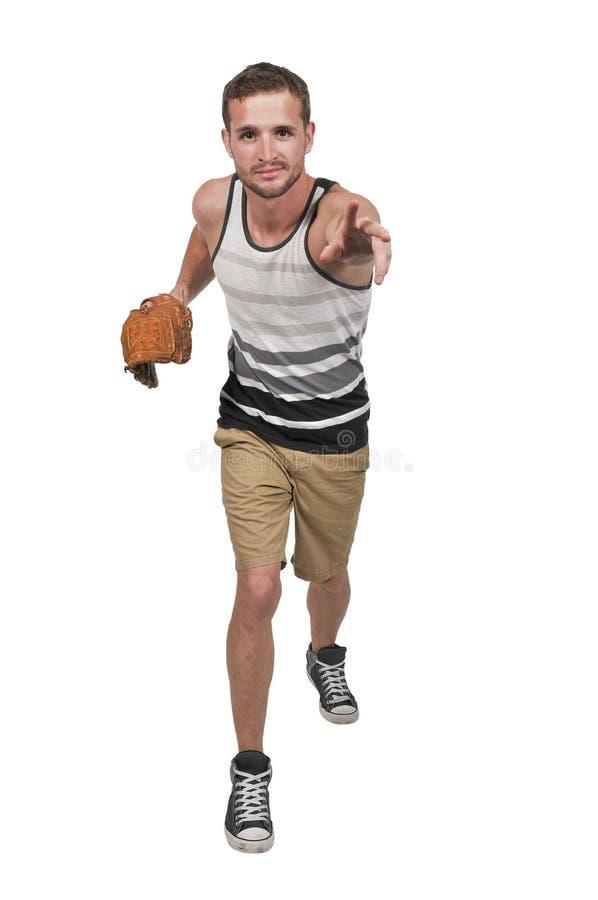 Man Baseball Player royalty free stock photos