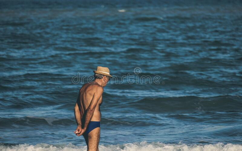 Man At The Beach Free Public Domain Cc0 Image