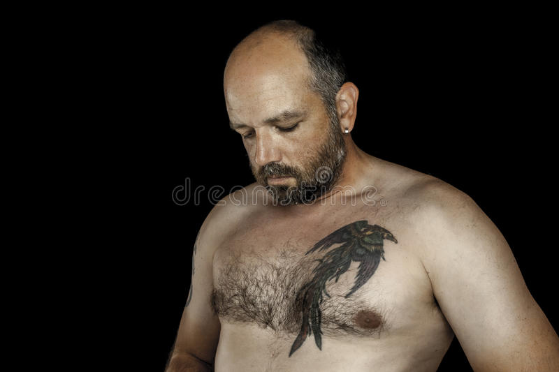 Download Man with beard stock photo. Image of cool, body, happy - 26173906