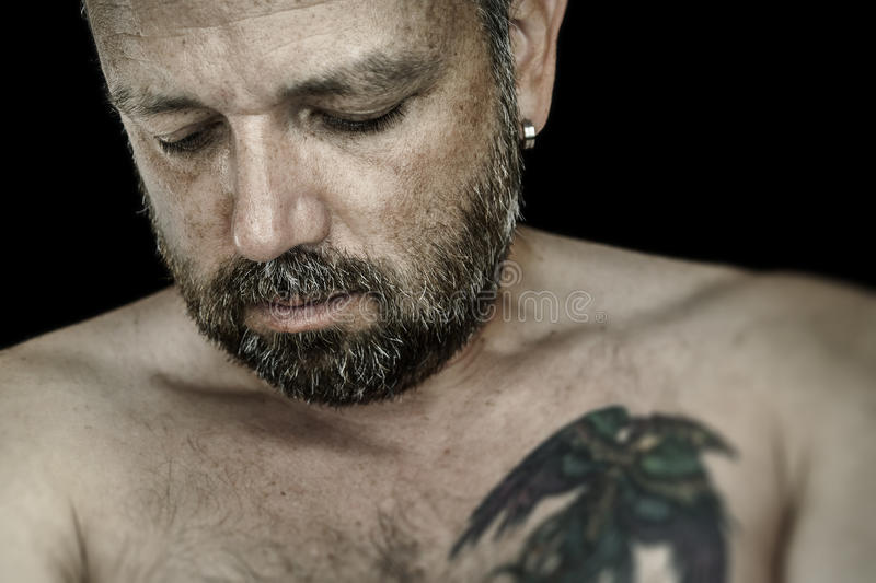 Download Man with beard stock image. Image of masculine, caucasian - 26180625