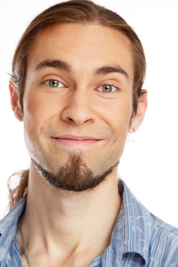 Download Man with beard stock image. Image of positive, grunge - 37191243