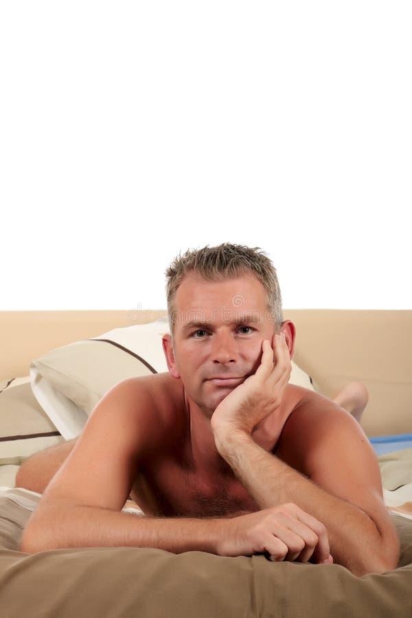 Download Man bedroom grooming stock photo. Image of night, handsome - 14544662