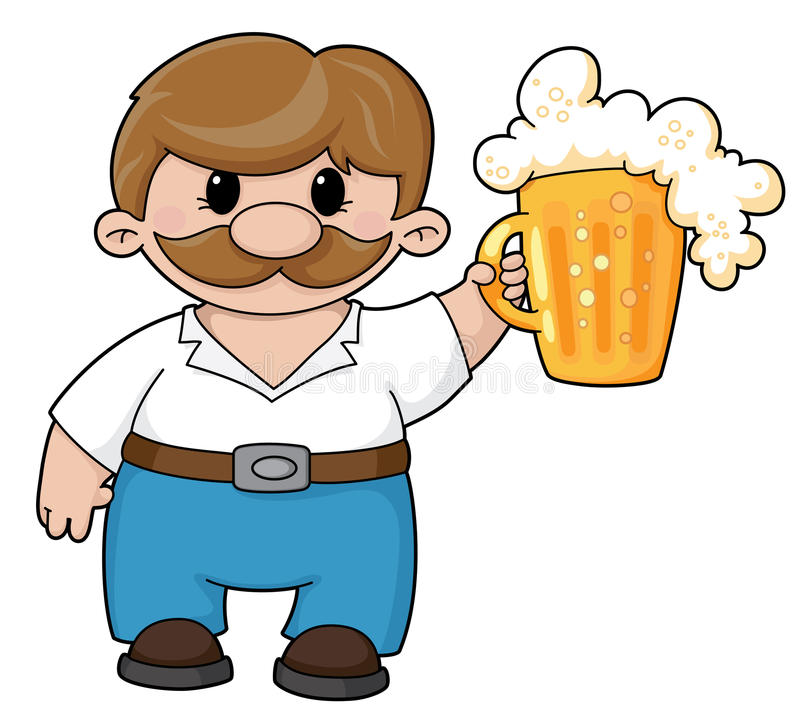 Man with beer