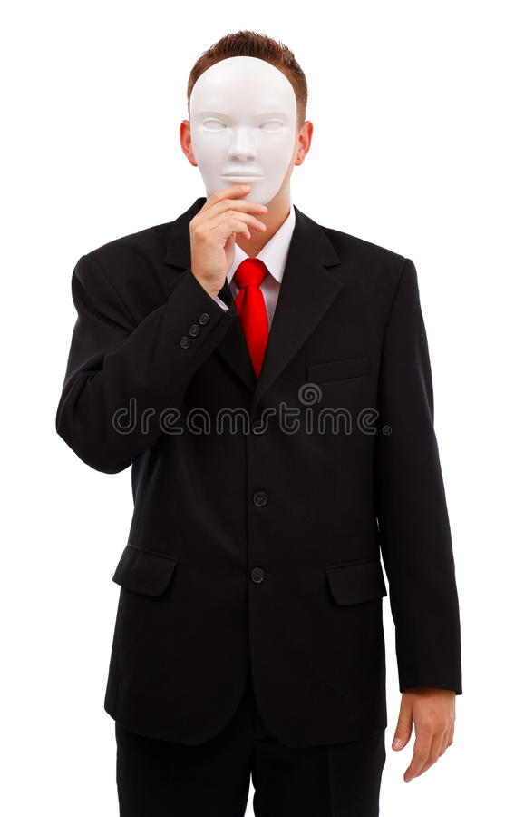 Download Man behind mask stock photo. Image of unnamed, behind - 16114042