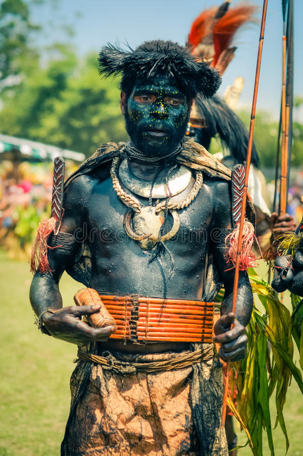 Ceremony In Papua New Guinea Editorial Stock Photo - Image
