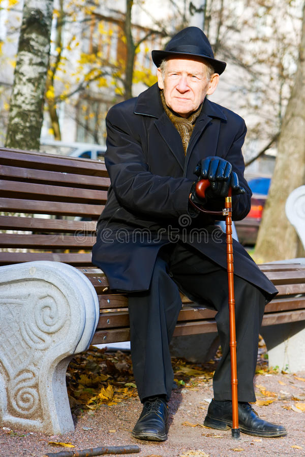 Download Man on a Bench stock image. Image of solitude, human - 11634703