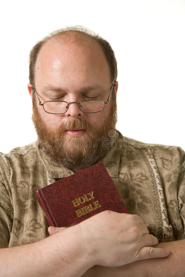 Download Man with bible stock image. Image of praying, aged, fifties - 21337105