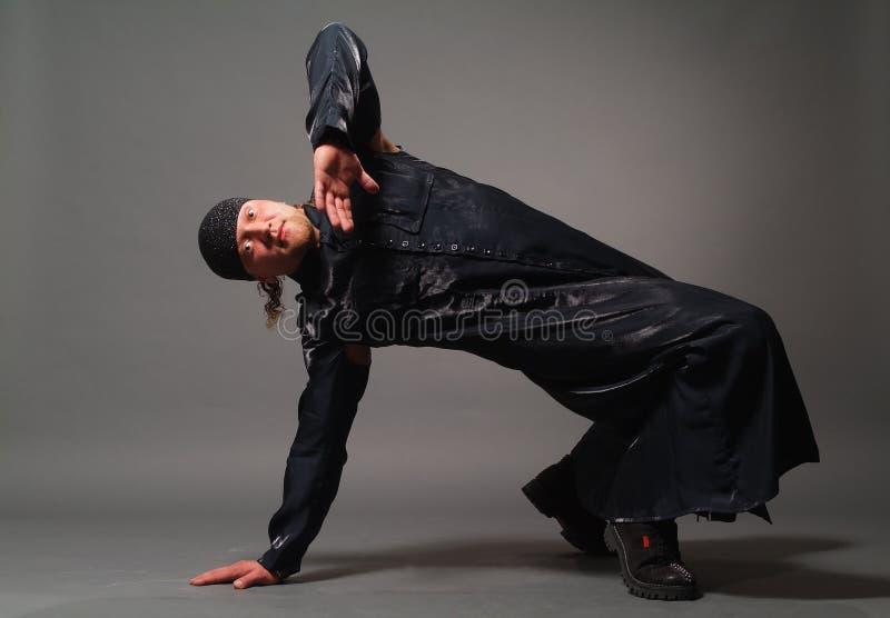 Download Man in a black raincoat stock photo. Image of raincoat - 7588070
