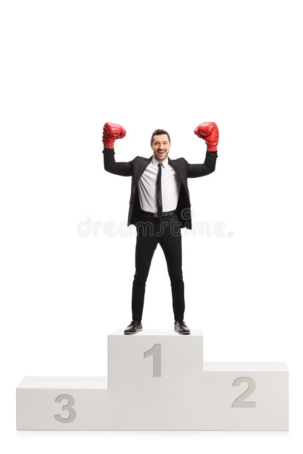 Kid With Red Boxing Gloves Stock Image Image Of Fight