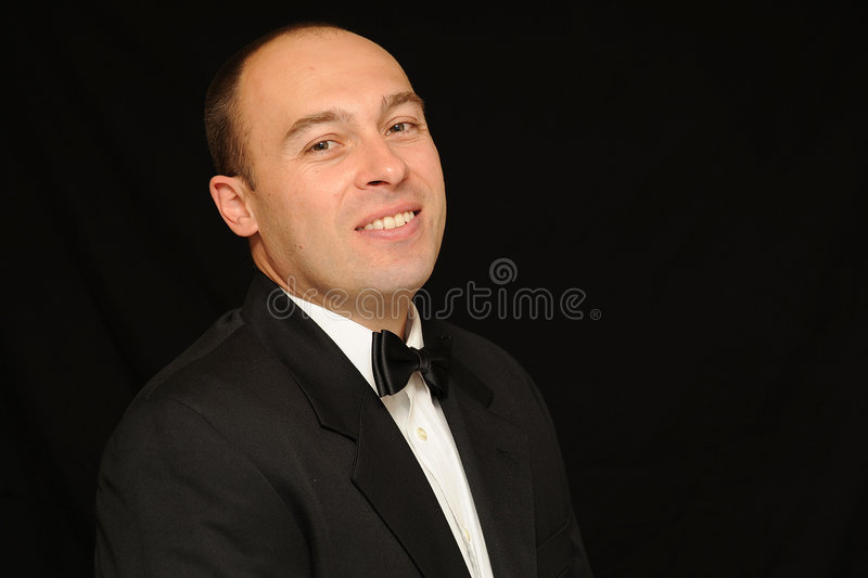 Download Man With Bow Tie Royalty Free Stock Photo - Image: 5833625