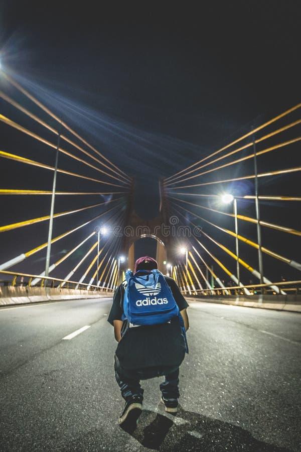 Man In Bridge Free Public Domain Cc0 Image