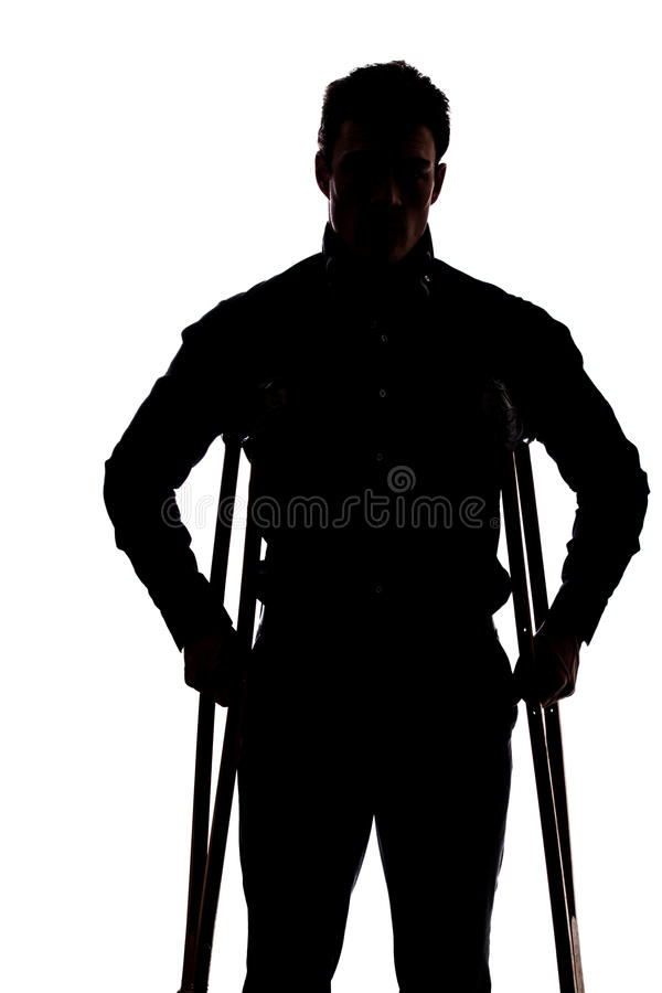 Download Man with broken leg stock image. Image of plaster, male - 33197955