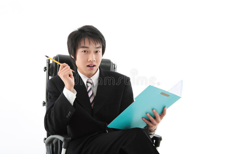 Man in Business I. Asian Ethnicity stock photo