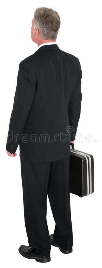 Man, Business, Looking Away, Isolated royalty free stock photo