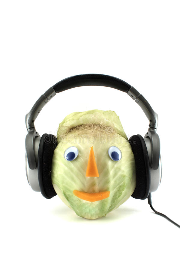 Download Man from cabbage_4 stock image. Image of fruit, happiness - 13367177