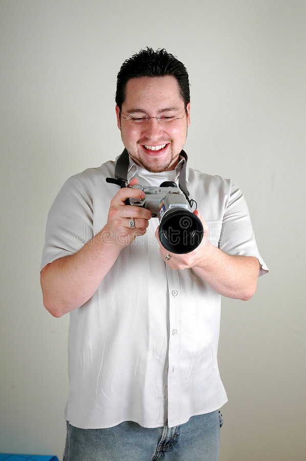 Download Man With Camera Stock Images - Image: 10004